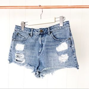 Volcom High Waisted Denim Short